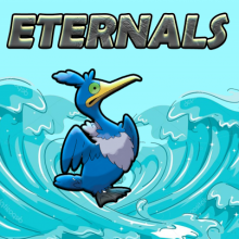 Logo do grupo Eternals