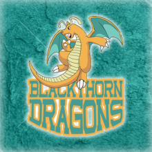 Logo do grupo Blackthorn Dragons