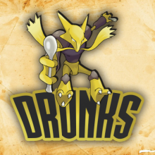 Logo do grupo Drunks